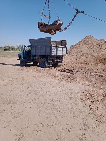 Сыпучие материалы - Бишкек: Песок | Гарантия, Бесплатная доставка