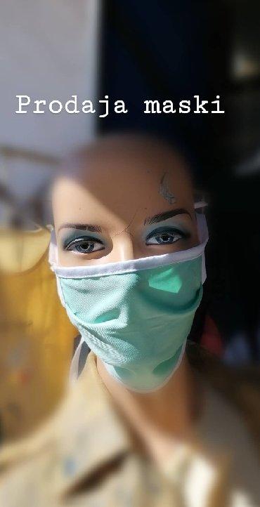 Visekratne maske 100% pamuk,Maske su 100% pamuk, peru se na 95
