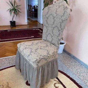 Kuća i bašta - Lajkovac: Navlake za stolice sa i bez karnera