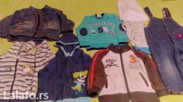 Paket dečije garderobe veličina 86, vrlo malo nošeno, bez - Vrnjacka Banja