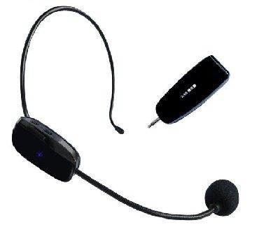 акустические системы promate беспроводные в Кыргызстан: Беспроводной головной микрофон+БЕСПЛАТНАЯ ДОСТАВКА ПО ГОРОДУ