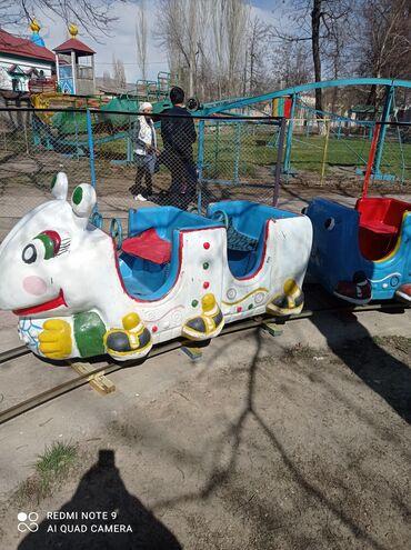 продам бу в Кыргызстан: Продам бу паровозик для детей от 2до 20лет реальным клиентом реальные