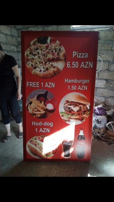 Bakı şəhərində Her nov reklam işi. qiymetler munasibdir