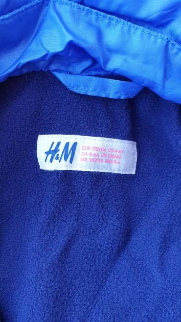 Jakna za decake. Prelepa. Nije nosena nikada. H&M velicina 4-5 - Belgrade