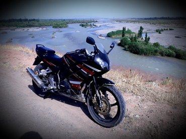 Новый мотоцикл в отличном состоянии  в Базар-Коргон
