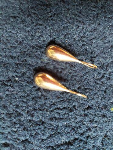 Личные вещи - Пригородное: Золотые серьги капля 585 носила всего два раза состояние отличное. Гр