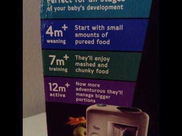 Prodajem aparat za kuvanje na pari i blendiranje za bebe. Sadrži i