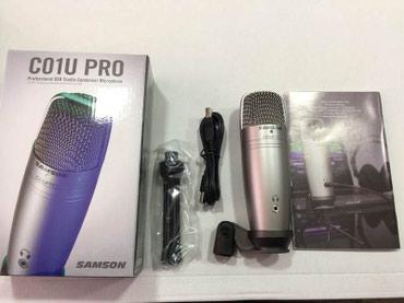 """Bakı şəhərində Mikrofon """"Samson C01U Pro"""""""