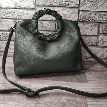 сумка жен в Кыргызстан: Женская сумка высота 30см ширина 29см объем 12см внутри один большой