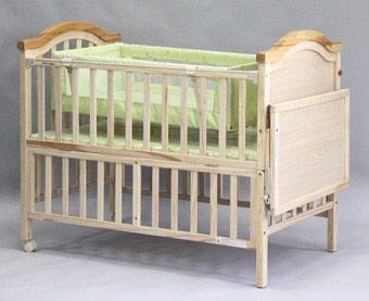 Продаю детскую кроватку. б/у. с люлькой в Бишкек