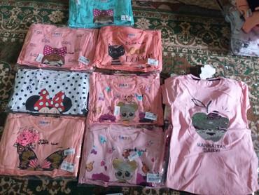 одежда для детей в Кыргызстан: Распродажа детской одежды.Турецкие футболки.от 1 до10 лет