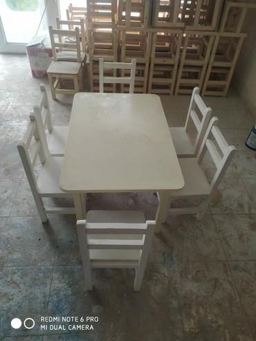 uşaq oturacaqları - Azərbaycan: Masa 80*50 120manat Oturacaq 30manat