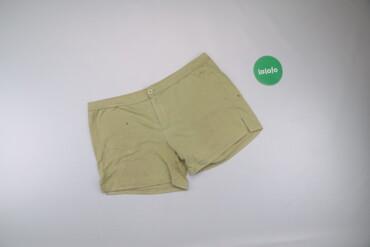 Жіночі шорти однотонні, р. M   Довжина: 33 см Довжина кроку: 11 см Нап