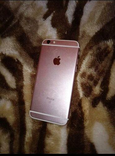 phone - Azərbaycan: İşlənmiş iPhone 6s 16 GB Cəhrayı qızıl (Rose Gold)