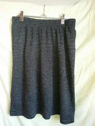 Трикотажная юбка, 44-46 р. На подкладде. Очень хорошенькая