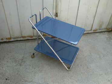 металлический шифер цена бишкек в Кыргызстан: Складной,передвижной(на колёсах),металлический столик.Очень удобно как