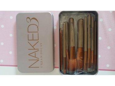 Naked 3 - set 12 cetkica za sminkanje - Boljevac