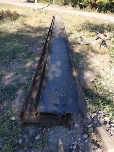Продаю двутавр. 60  высота 60 см.  длина 12 метров. 2 шт. 40 сом кг. в Бишкек
