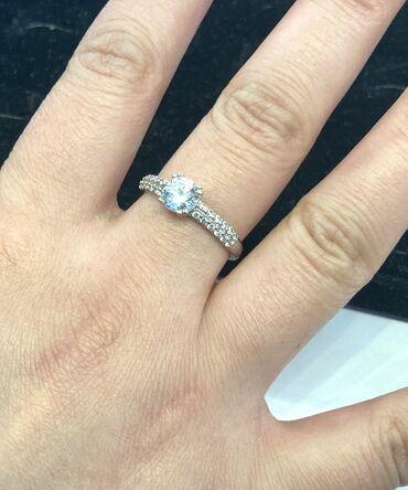 весы для золота цена в Кыргызстан: Продаю новое шикарное кольцо из белого Золото 585 пробы, вес 2.44 гр