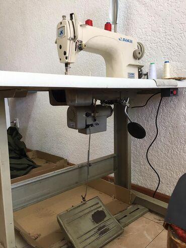 Швейный механик - Кыргызстан: Продаю прямострочную швейную машинку от фирмы Jake, в отличном состоян