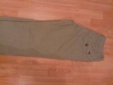 Pantalone mango xs maslinasto zelené ravne nogavice - Nis