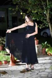 Pantalone maxi me - Srbija: Crna duga, maxi svecana haljina