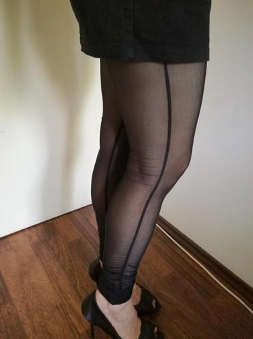 Helanke čarape od čvrstog tila,nove,lepo stoje na sorcu ili mini - Belgrade