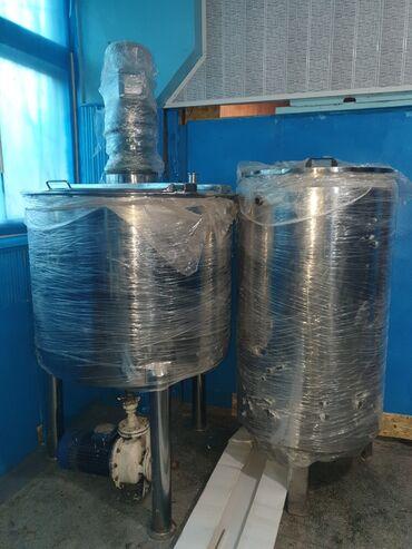 технолог пищевой промышленности бишкек in Кыргызстан   ТЕХНОЛОГИ: Оборудования пищевой. 500 л оба у одного рубашка есть для охлаждения