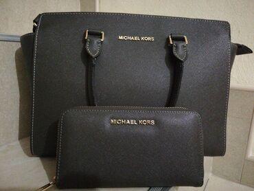 Korset waggon - Srbija: MICHAEL KORS komplet - torba i novčanik. Kupljeno u Turskoj za 150eur