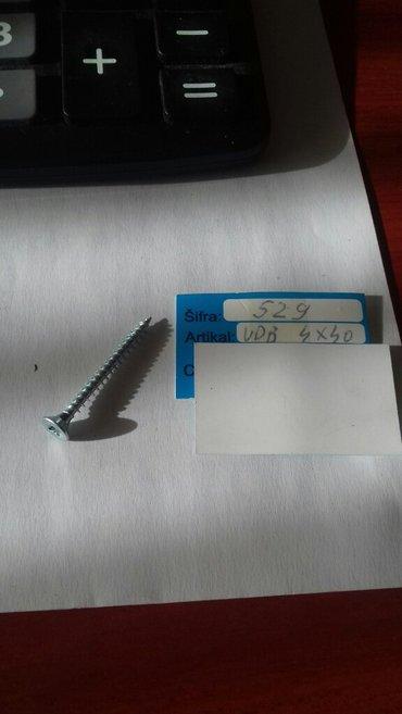 vd 4x40;  73kom - Crvenka