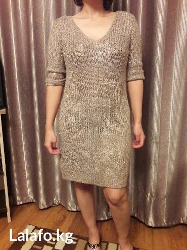 Платье зимнее с пайетками, очень в Бишкек