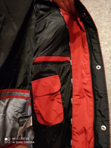 Куртка мужская, наполнитель пух.Размер 52.Турция.Капюшон съёмный,есть