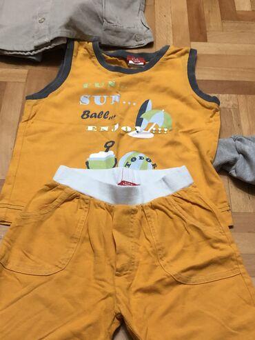Za decu - Surdulica: Paketić za dečaka: 92/98todor komplet letnji šorc i majica,2 majice