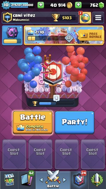 Clash royal account Dobijete email i supercell Id accounta Cena fiksna