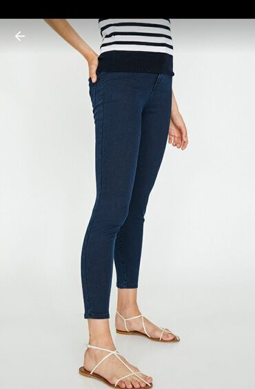 Koton firmasinin jeansidi tezedir geyinilmeyib