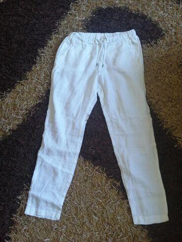 Lanene pantalone - Srbija: Pantalone lanene l/xl vel