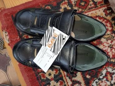 Детская обувь в Кок-Ой: Продаю кожаную обувь, 37 размер. покупали дороже, размер не подошёл