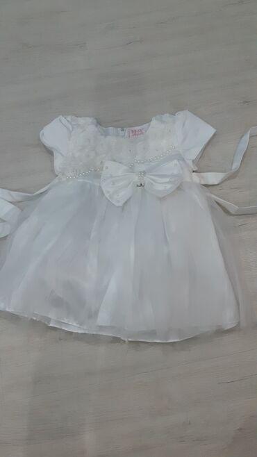 Платье на маленькую принцессу на 1 годик. Одевали один раз