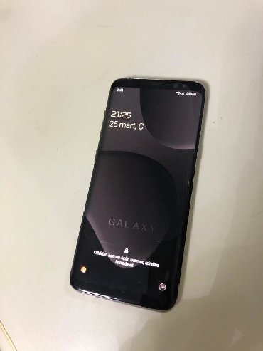Samsung galaxy duos - Azərbaycan: İşlənmiş Samsung Galaxy S8 64 GB qara