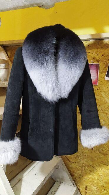 Верхняя одежда в Каракол: Дублёнка размер 44/46 искусственный мех зима/осень состояние отличное
