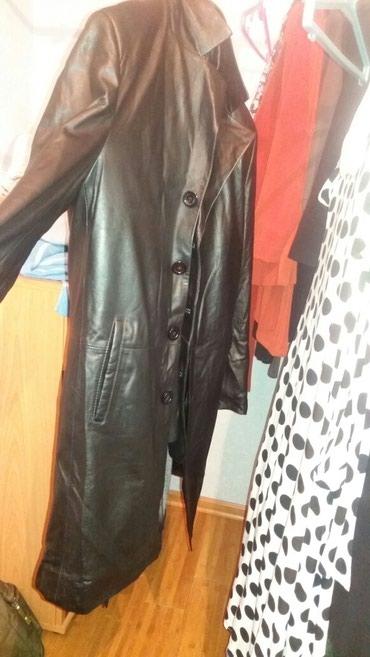Плащи в Кыргызстан: Продаю новый кожаный плащ