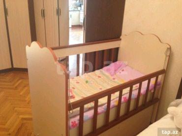 Sumqayıt şəhərində Детская кровать с матрасом. матрас новый.