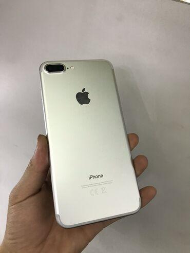 Электроника - Кочкор: Б/У iPhone 7 Plus 128 ГБ Серебристый
