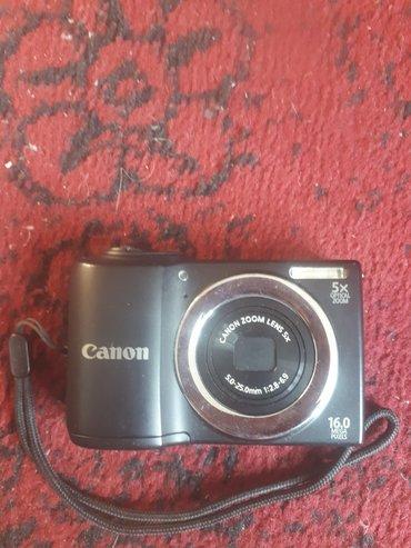 foto video в Кыргызстан: Фотоаппарат, чехол, 16 megapixels,оптический зум, canon, торг