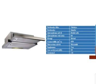 Электроника в Билясувар: ‼Aspirator - Simfer‼ Qiymət : 125 azn. Ölçü : 60 sm. standart.Çəkmə