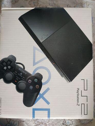 playstation-buy в Кыргызстан: Продам SONI PS 2 два джойстика в комплекте, состояние отличное, прошу