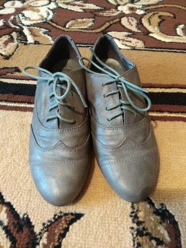 Оксфорды в Кыргызстан: Женские кожаные туфли, новые,37-38 размера