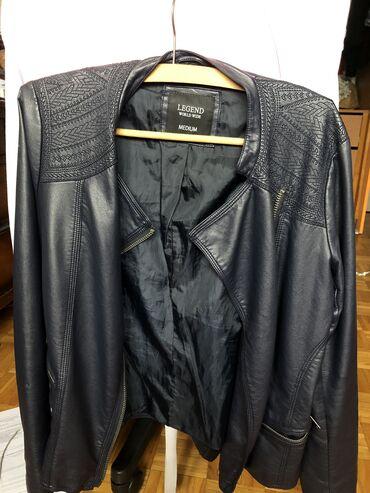 Asus p750 - Srbija: Kozna teget jakna Legend