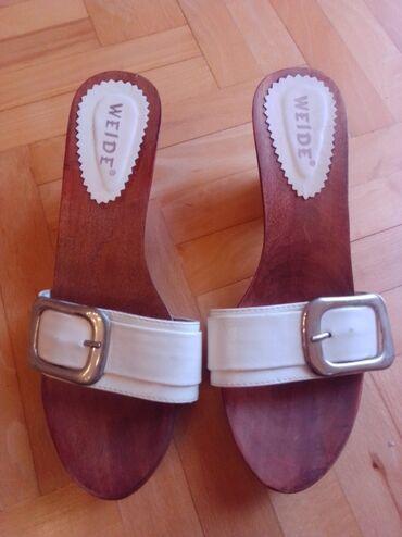 Personalni proizvodi | Nova Pazova: Bele papuce, broj 39