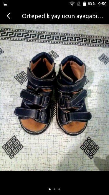 ortepedik uşaq ayaqqabıları - Azərbaycan: Ortepedik ayagabi alti duz ve eyri ayaglar ucun 1-3 yawa kimi uwaglar